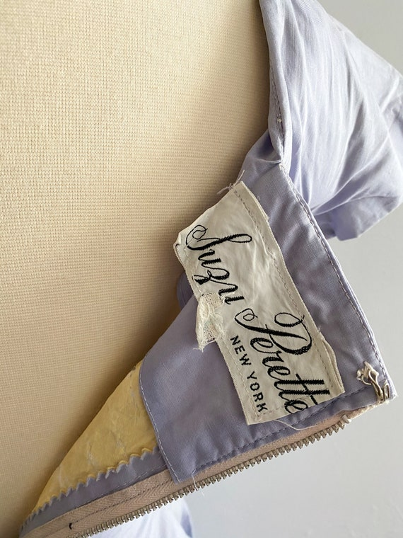 1950's Suzy Perette Vintage Iconic Tuxedo Dress P… - image 5