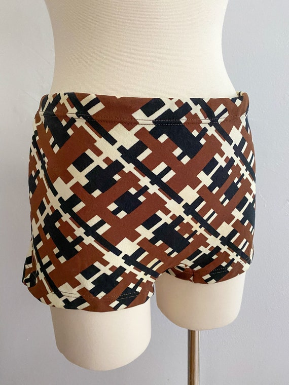 1960's Vintage Swim Trunks Hot Pants by The Expand