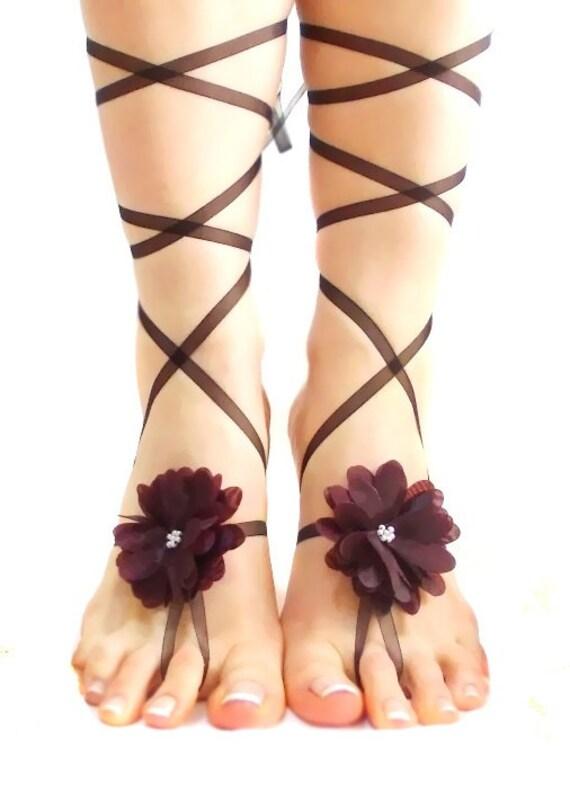 extraordinaire sandale plage pieds Sandales bracelet pieds mariage nus mariage romantique aux nus ZPZXnqpz