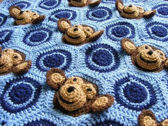 Crochet Baby Blanket Pattern Instant Download Crochet Pattern Etsy