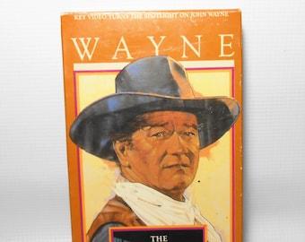 "Vintage VHS Movie, John Wayne, ""The Comancheros"", VCR Tape, Old Movies, Western, The Duke"