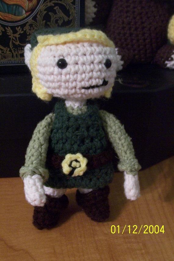 Legend Of Zelda Link Amigurumi Crochet Pattern Etsy