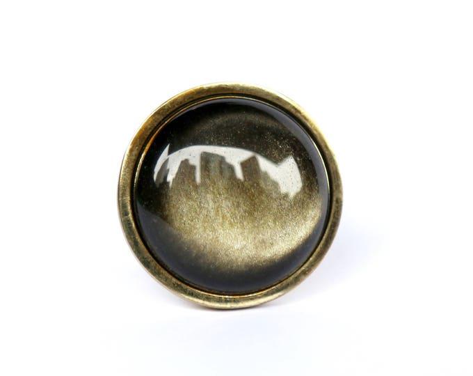 Obsidian Dresser Knob
