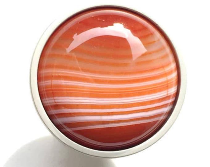 Saturn Sunset--Red Agate Knob