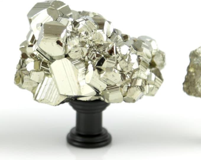 Gold Pyrite Knob - LARGE GOLD KNOB