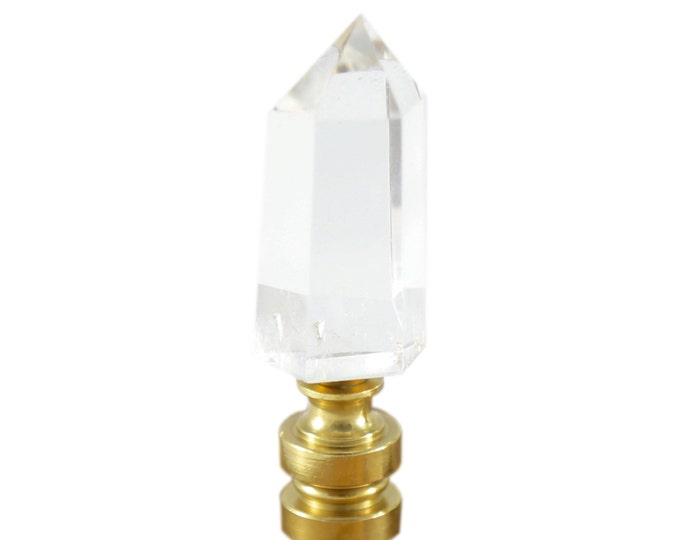 Crystal Point Lamp Finial