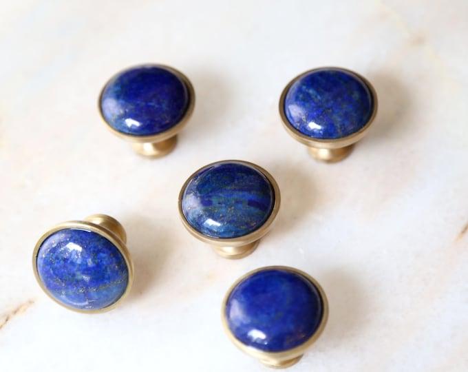 Celestial Spirit--Lapis Lazuli Knob