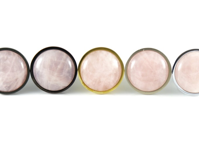 Love Orb--Rose Quartz Knob
