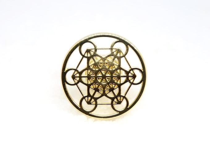 Metatron's Cube Knob