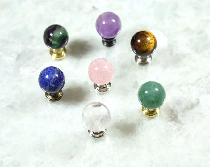 Crystal Ball Knobs