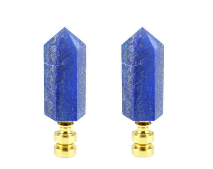 Lapis Lazuli Lamp Finial - Lighting Accessory