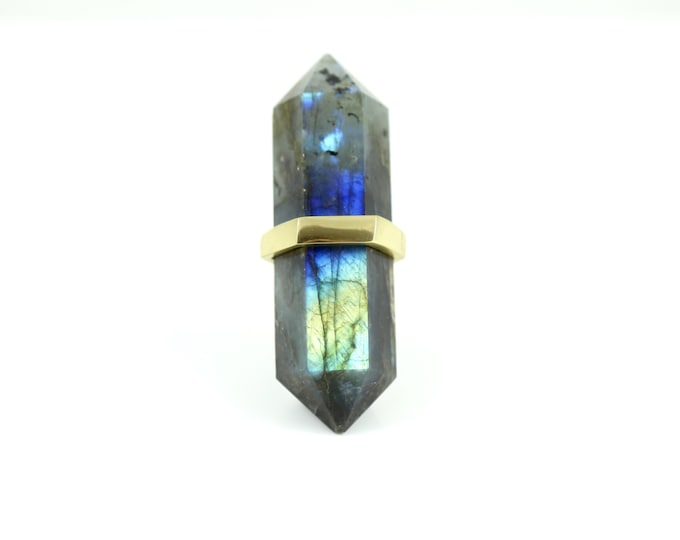 Blue Labradorite Drawer Pull