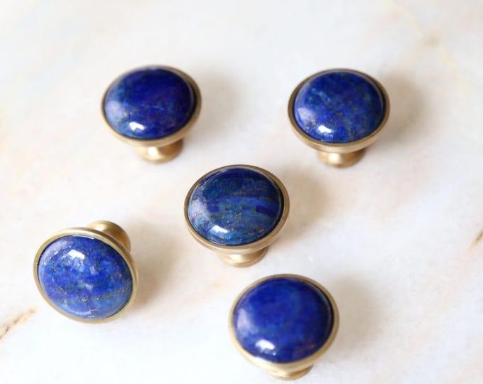 Lapis Lazuli Knob - Celestial Spirit