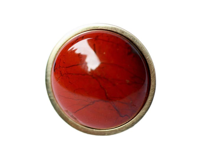 Red Cabinet Hardware - Red Knob