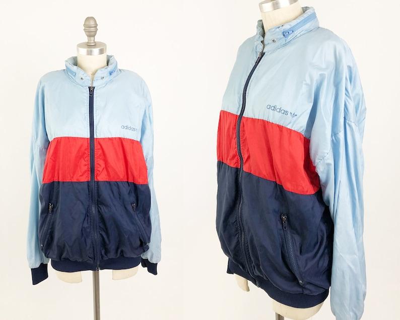 80er90er Jahre Vintage Reebok Trainingsjacke in