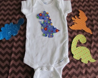 Iron on Dinosaurs - no sew craft kit - iron on appliques for decorating baby tees or dinosaur nursery
