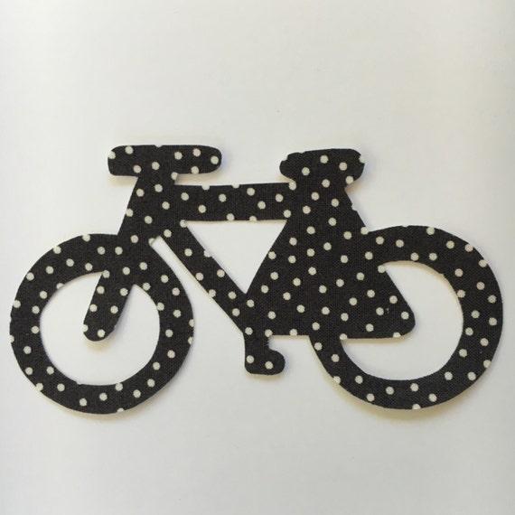 Vélo Applique - fer sur applique de vélo - faire une chemise de vélo ou tout autre métier