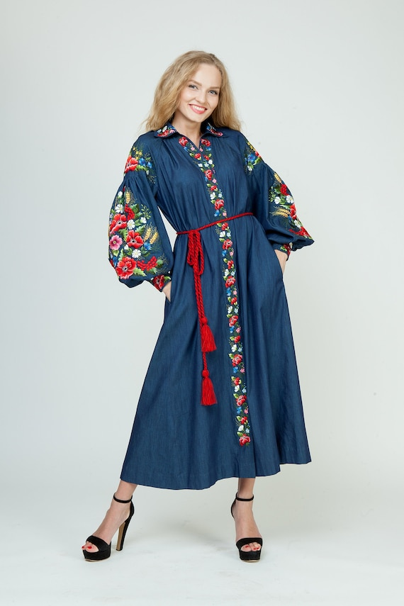 Holiday Dress for Women,denim maxi dress,denim maxi dress,