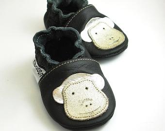 363c0b68e8990 Monkey baby shoes | Etsy