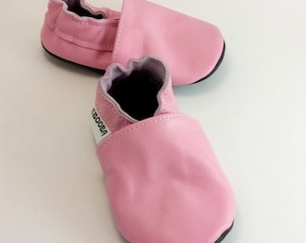 f868ae66c0aff Baby shoes leather soft sole walkers moccasins newborn by ebooba