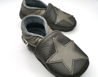 Star baby shoes | Etsy