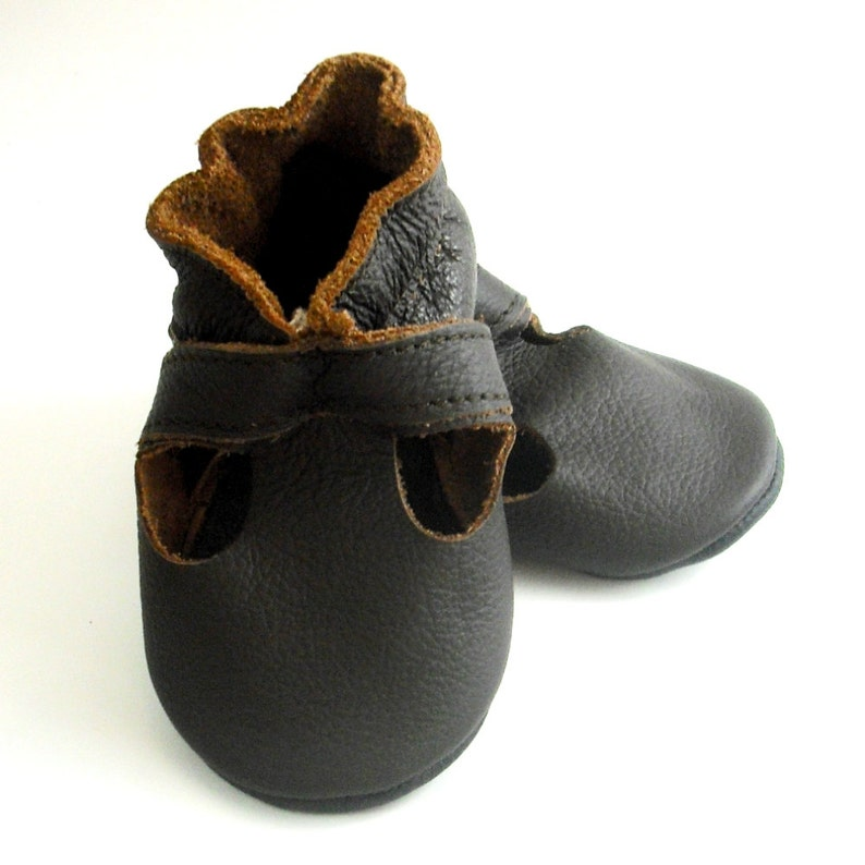 9a912ac200026 Baby Sandals, Ebooba, Chocolate Leather Soft Sole Baby Summer Shoes, Baby  Moccasins, Baby Crib Shoes, Unisex' Leather Sandals, Dark Brown
