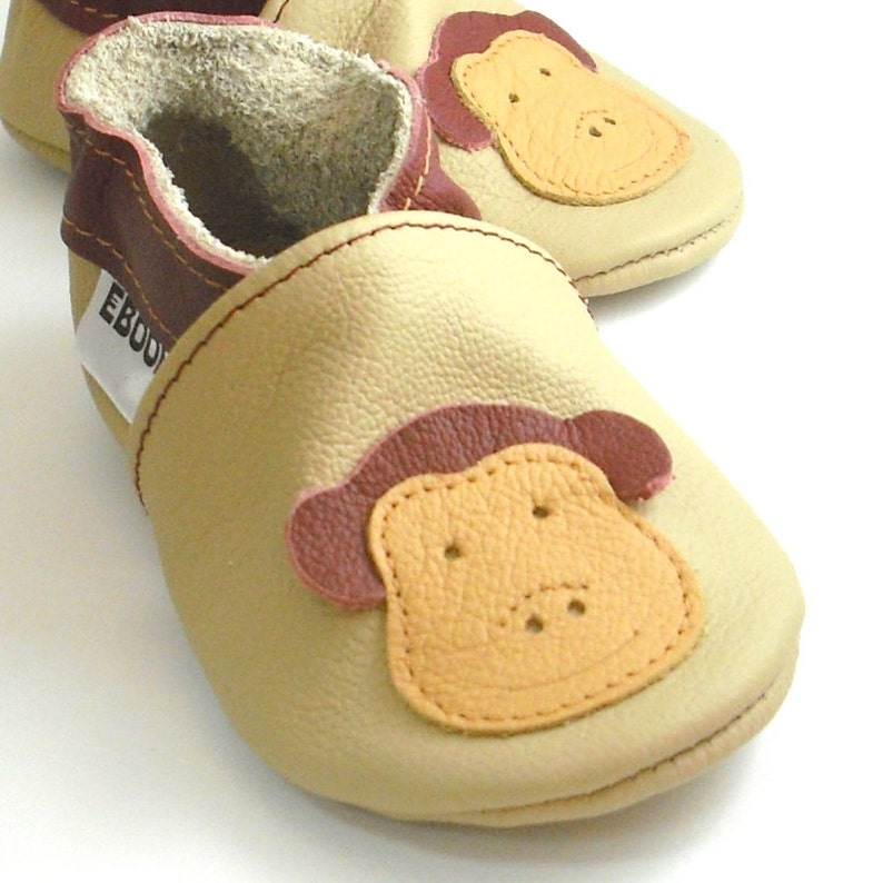 e5b7b15aec10f 0-6 Months Baby Shoes, Newborn shoes, Baby booties, Infant Slippers, Crib  shoes, Boys', Baby Moccasins, Monkey Baby Shoes, Girls'