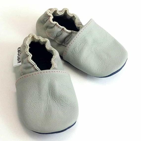 Baby Jungen Mädchen Crib Schuhe Krabbelschuhe Moccasins Lauflernschuhe 0-18m