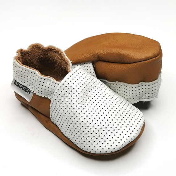 Genuine leather baby shoes Toddler