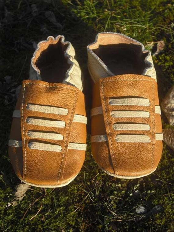chaussons chaussures bébé sport brun beige 0 6 ebooba SP-28-BR-M-1