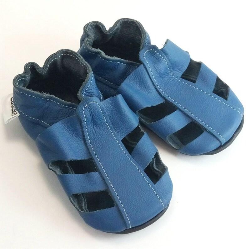 huge discount 80e7c 9a719 Baby Sandals Soft Sole, Leather Infant Sandals, Baby Shoes, Leather Baby  Shoes, Boys' Sandals, Krabbelschuhe, Baby Summer Booties, Girls', 4