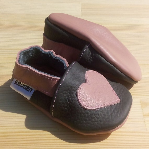 Dotty Fish Soft Leather Baby /& Toddler Shoes Pink Hearts 0-6 to 12-18 Months