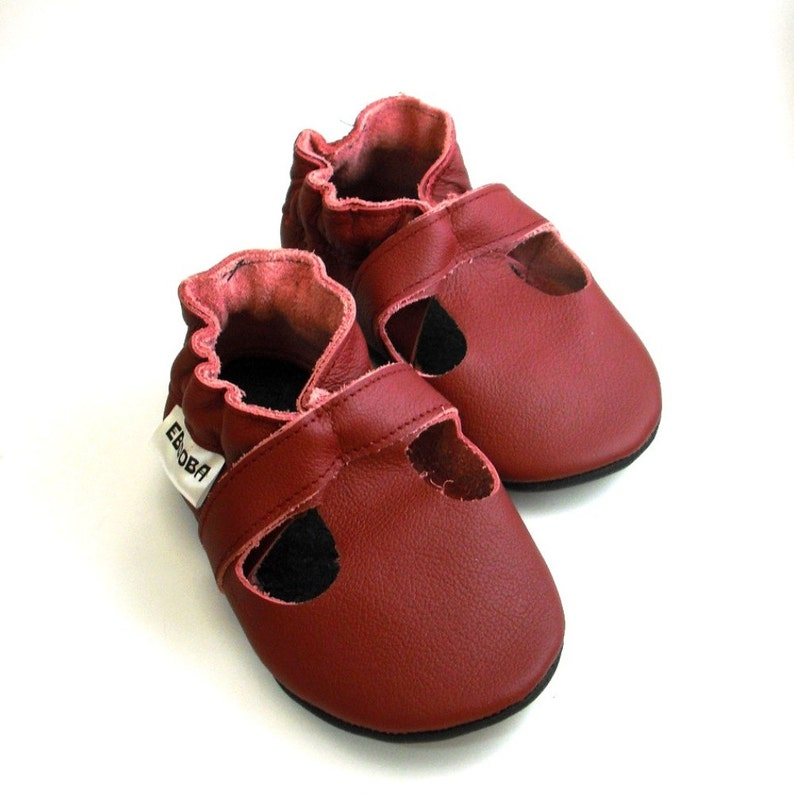 be66f2fdf85 Baby Leather Shoes Baby Sandals Soft sole baby Slippers