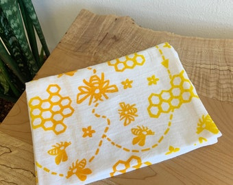Los Alamos LOCAL Delivery ONLY The Cricket Window Block Printed Linen Grey Dots 18 x 18 Pillow