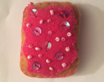 Felt Toaster Pastry Accessory