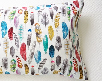 Pillowcase  ||  Feather in Your Cap