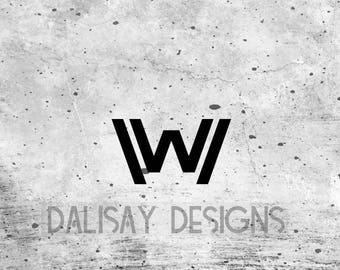 WestWorld Logo Vinyl Decal