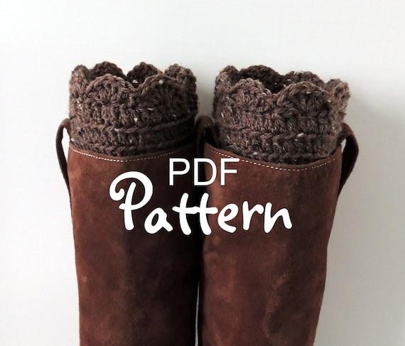 PDF CROCHET PATTERN For FANtastic Boot Cuffs Crochet Boot Etsy Stunning Boot Cuff Crochet Pattern