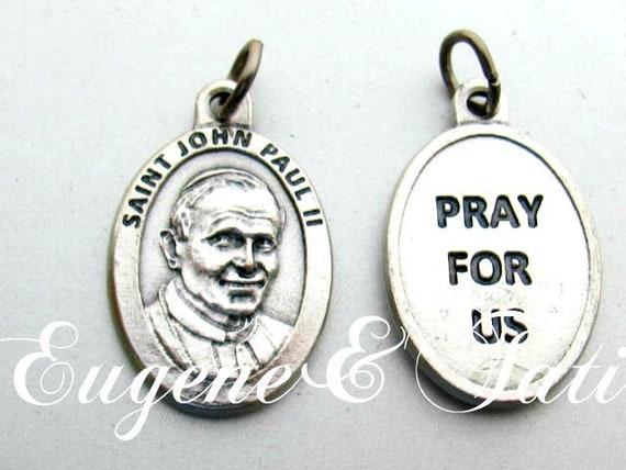 Saint Pope John Paul II. Catholic Jewelry. Saint … - image 4