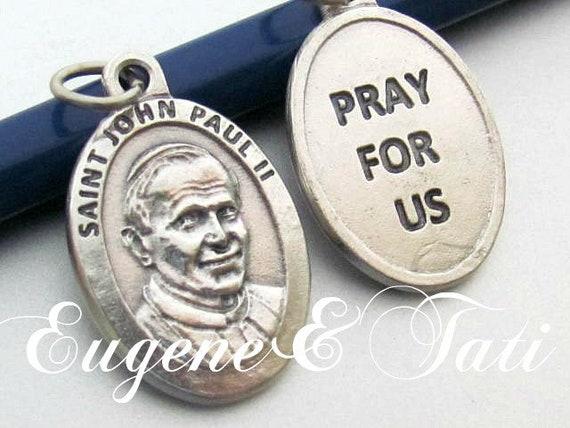 Saint Pope John Paul II. Catholic Jewelry. Saint … - image 1