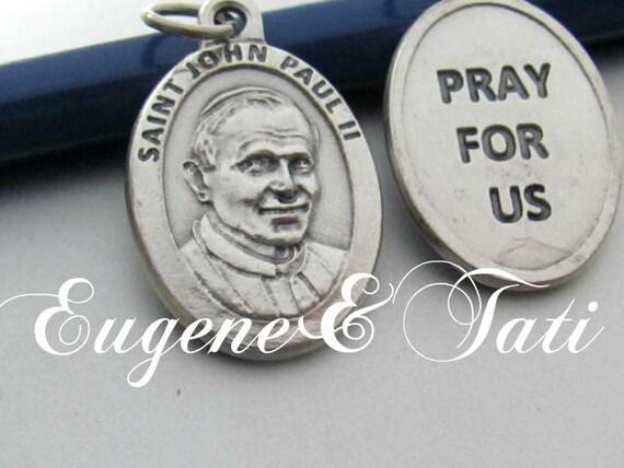Saint Pope John Paul II. Catholic Jewelry. Saint … - image 2