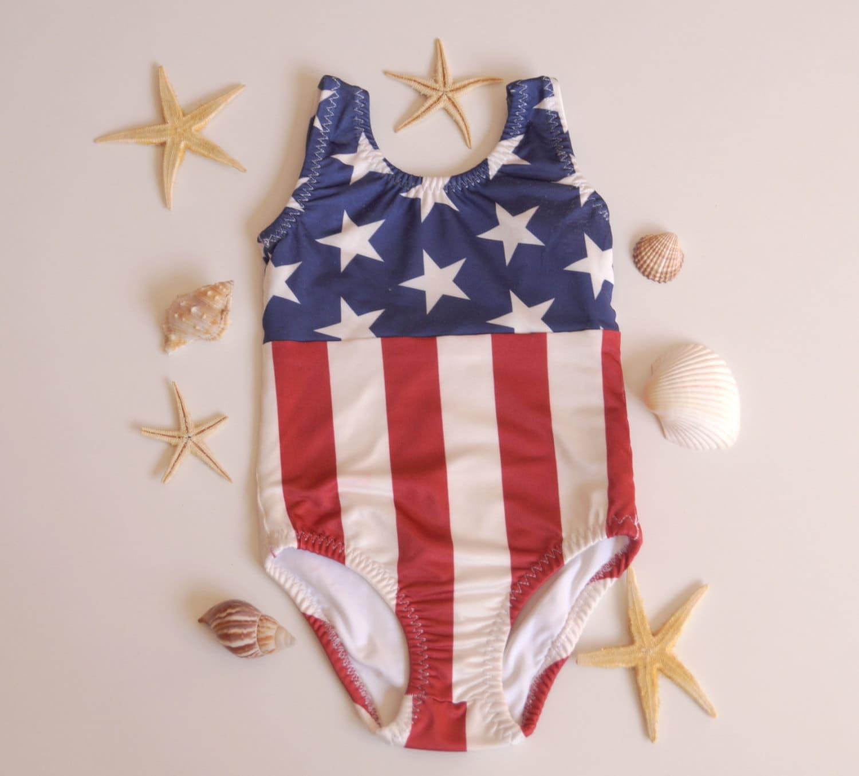da761fc44cd USA Flag girl swimsuits/American Flag girls bathing suits /Children swimwear/4th  july kids/Flag swimsuits/Kids clothing/Kids bikini