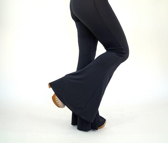 5d6df2e98f8397 Bell bottoms women/Flare pants/Stretchy women leggings/Plus | Etsy
