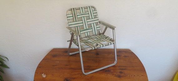Fine Vintage Childrens Kids Folding Lawn Chair Beach Camping Bbq Machost Co Dining Chair Design Ideas Machostcouk