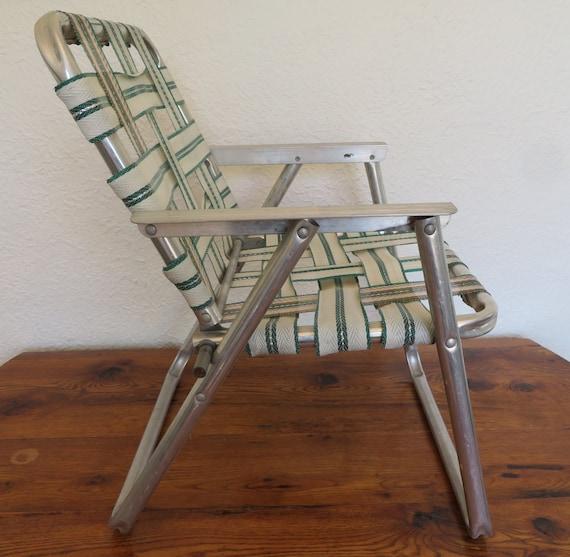 Swell Vintage Childrens Kids Folding Lawn Chair Beach Camping Bbq Machost Co Dining Chair Design Ideas Machostcouk