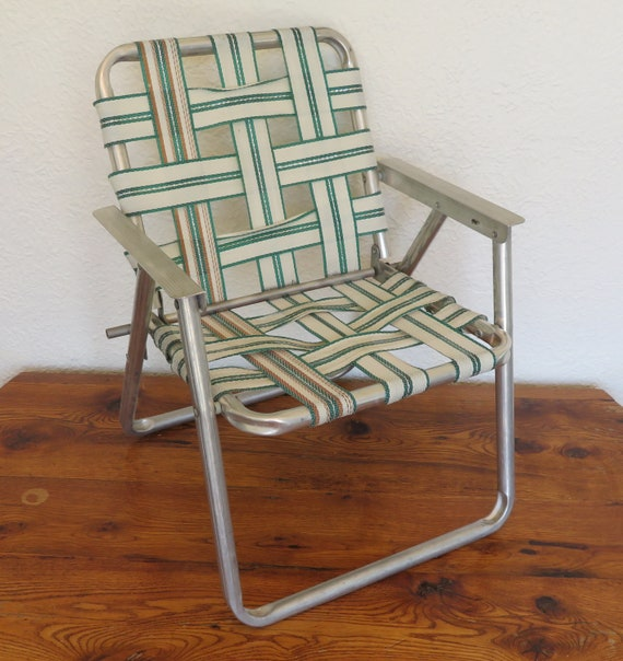 Admirable Vintage Childrens Kids Folding Lawn Chair Beach Camping Bbq Short Links Chair Design For Home Short Linksinfo