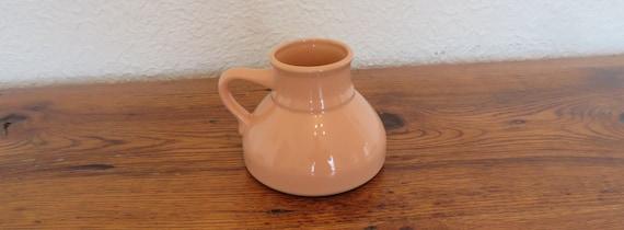 b9c21e03128 Vintage Ceramic Travel Mug Wide Base No Spill 18 oz. Foam | Etsy