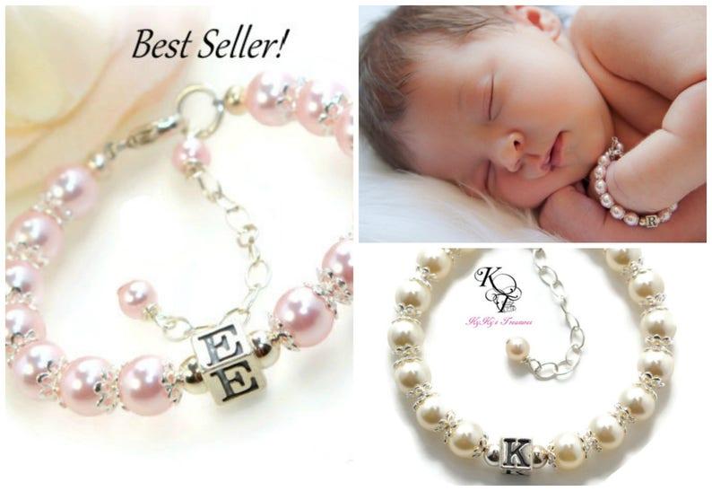 New Baby Gift Little Girl Bracelet Baby Gifts Baby Bracelet Little Girl Gifts Personalized Baby Bracelet Personalized Girl Gift