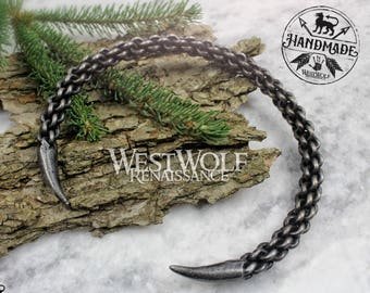 Viking Wolf Claw Pendant