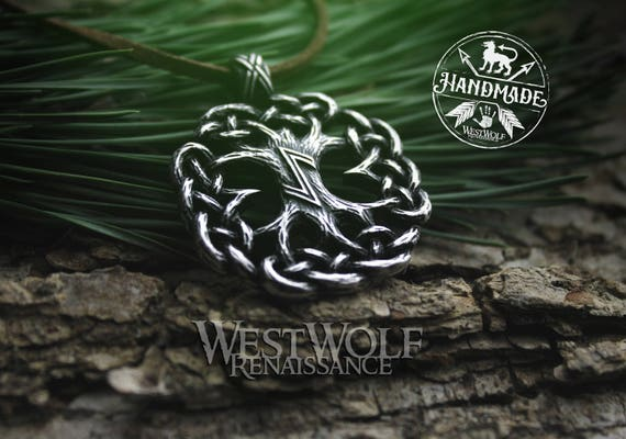 Knotted tree of life pendant yggdrasil the world tree aloadofball Choice Image